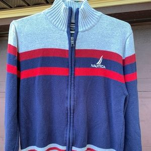 Nautica - Zipper Sweater - Size Boys Large (14/16)